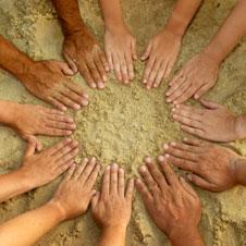 Cooperative hands