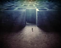 finding way through maze 4