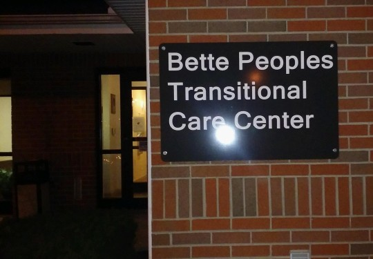 BETTE PEOPLES TRANSITIONAL CARE CENTER - cropped