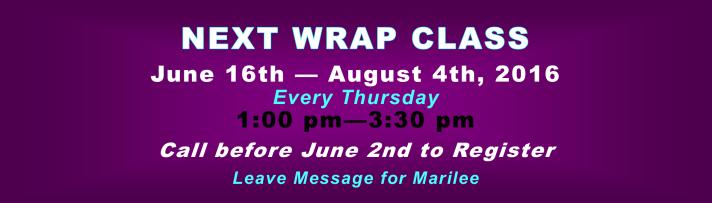 Next WRAP class 1