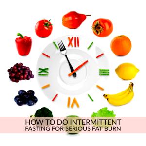 Intermittant Fasting clock