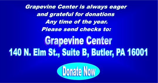 Grapevine Center Grateful for All Donations